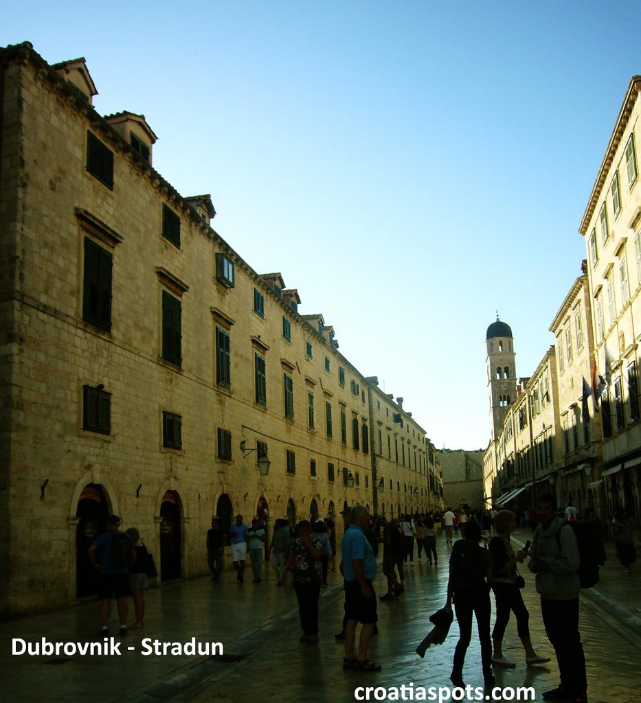 An afternoon in Dubrovnik (Stradun)