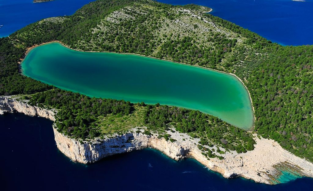 Telascica nature park on Dugi Otok Island
