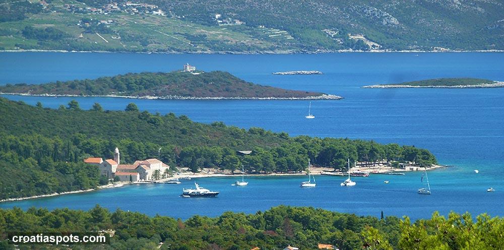 Islets in south Dalmatia