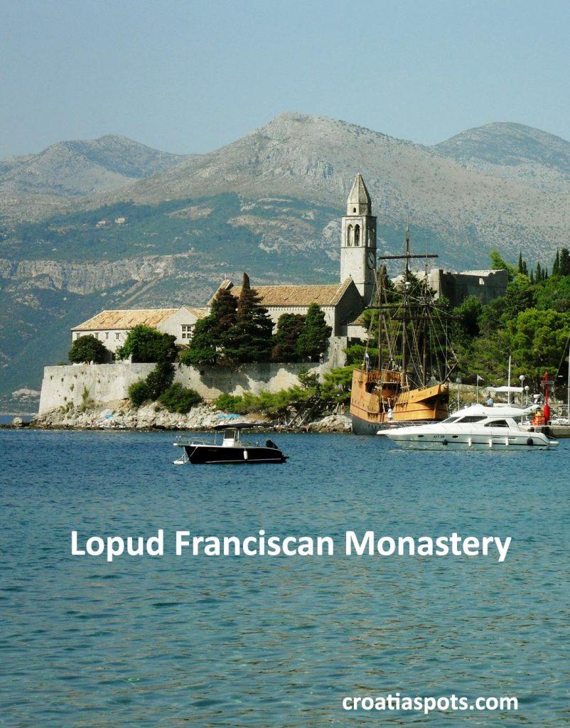 Franciscan Monastery on Lopud, Croatia