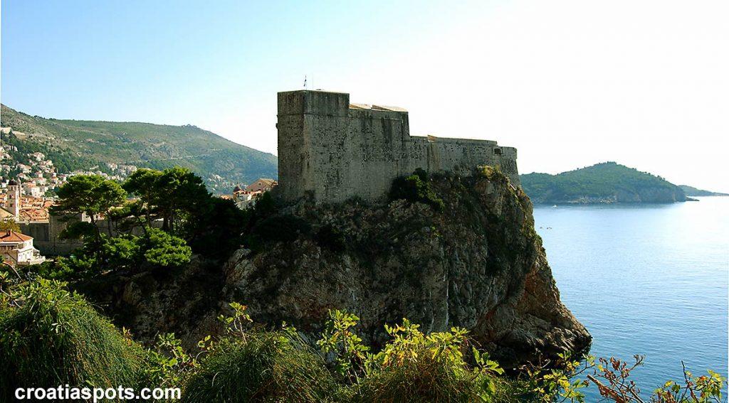 Lovrijenac Fortress (St Lawrence Fort)