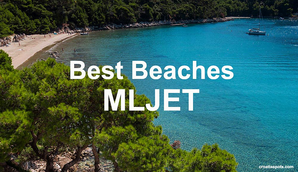 Beach on Mljet island