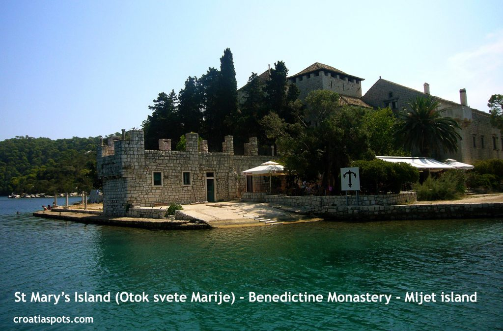 Benedictine Monastery @ St Mary's Island, Mljet National Park