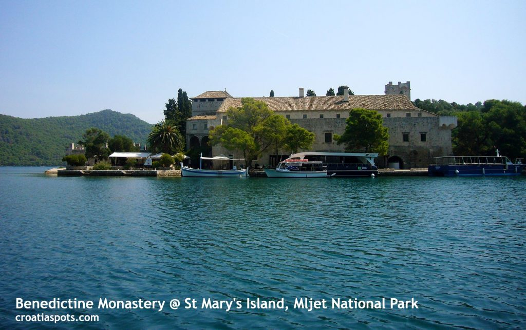National Park Mljet - St Mary's Island @ Veliko Jezero (Large Lake)
