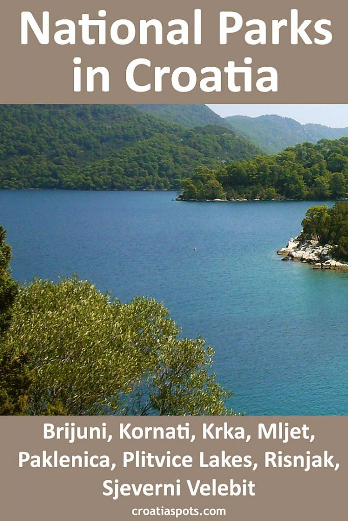 Mljet National Park is the southernmost National Park in the country