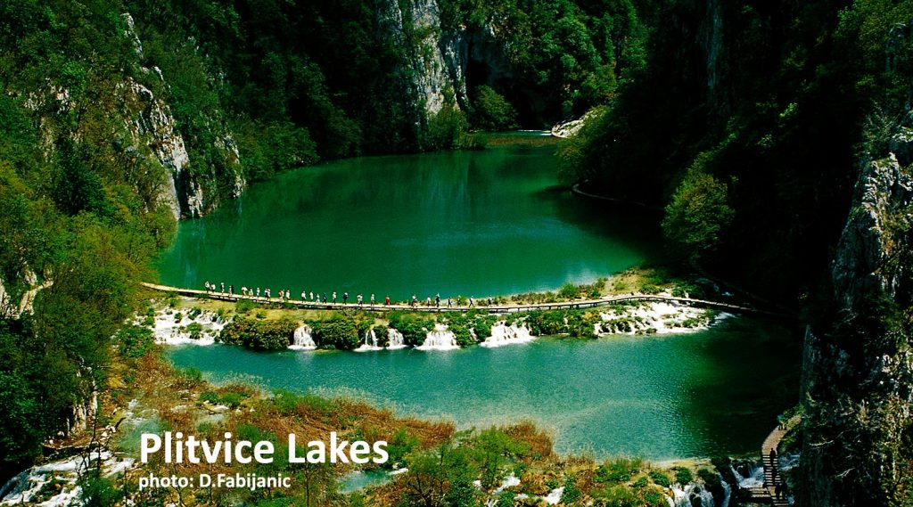 Croatia's national park Plitvice Lakes