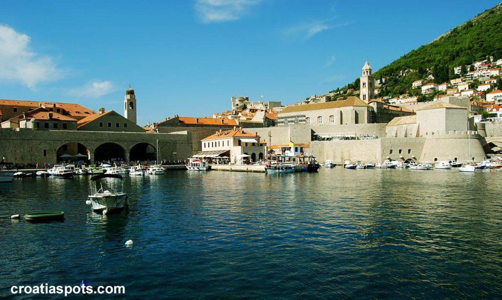 Old Town Port Dubrovnik