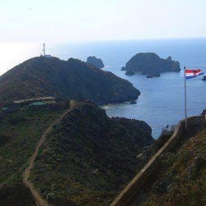 Coastline of Palagruza