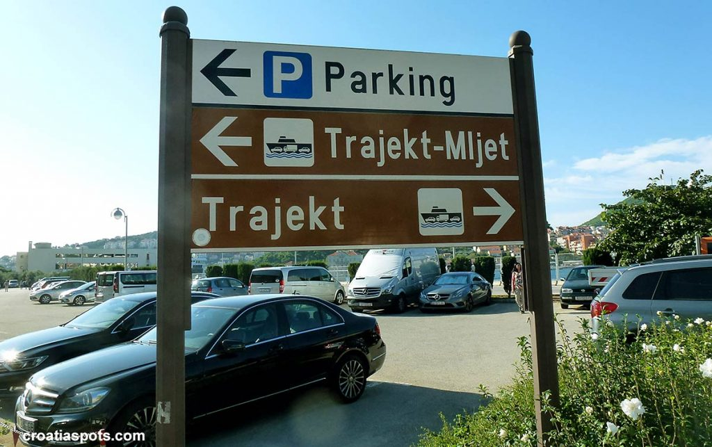 Parking in Dubrovnik, ferry port Gruz and Bus terminal