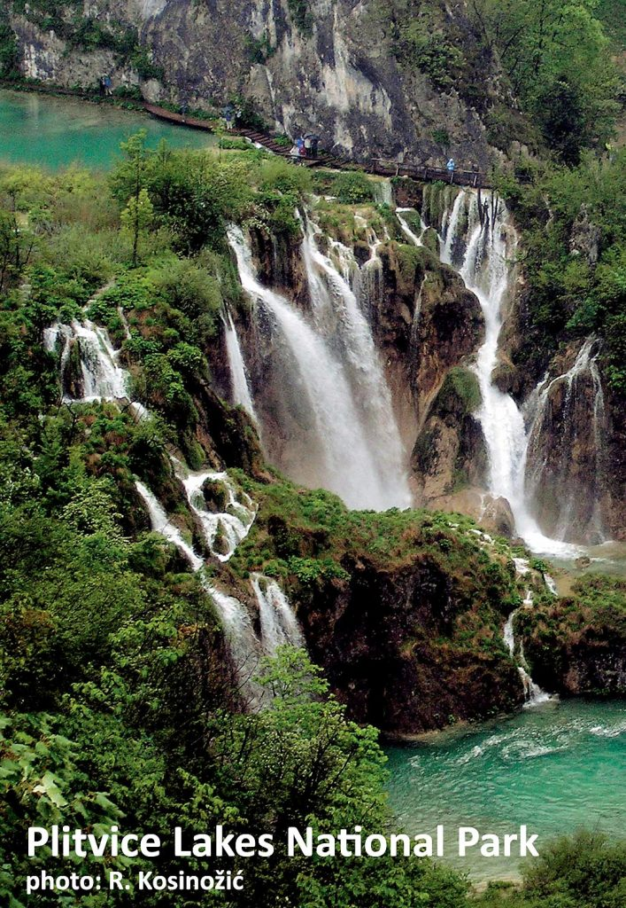 Plitvice Lakes National Park is one of the most amazing places to visit for a day