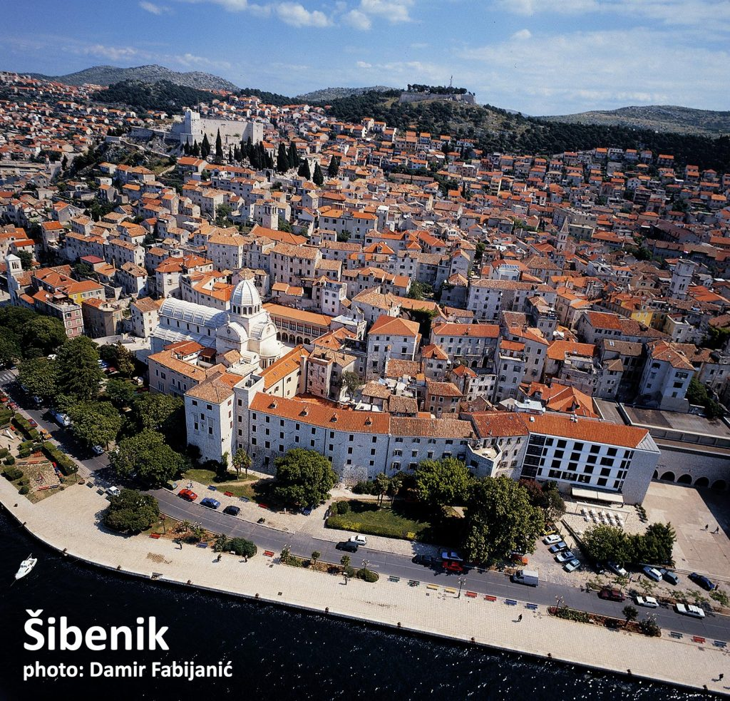 Sibenik, just an hour drive from Split