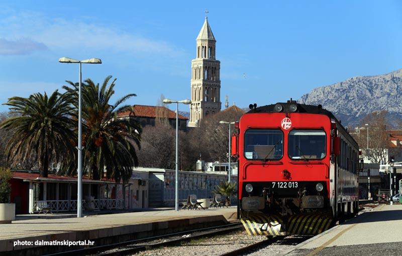 The Train Station in Split