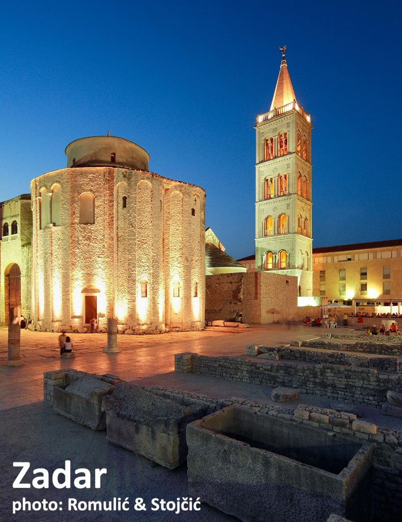 Zadar, Sveti Donat Church and Forum - easy to reach for a one day excursion