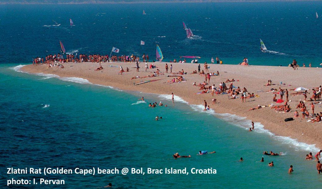 Zlatni Rat, Beach, Bol, Brac Island
